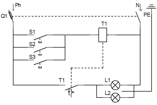 Classification des sch mas - Schema electrique telerupteur ...
